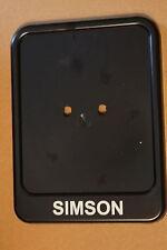 Kennzeichenhalter Simson Kennzeichenträger Star S50 S51 Schwalbe Moped Mofa 3209