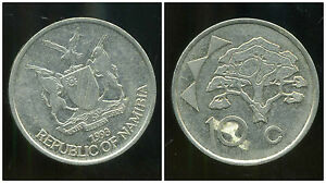 NAMIBIE  10 cents  1993