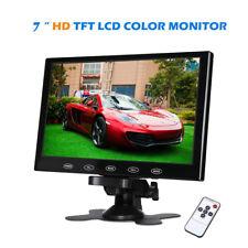 US-7'' Ultra Thin 1024*600 TFT-LCD Home Security CCTV Monitor AV/HDMI/VGA/RCA