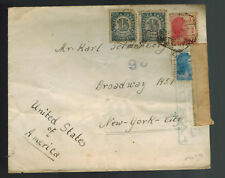 1937 Spain Civil War Censored Cover to New York USA
