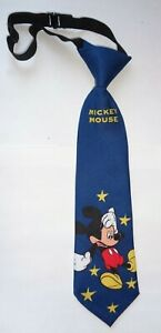 Kinderkrawatte*Mickey Maus,Sterne * Dunkelblau *Krawatte*Schlips * Mouse