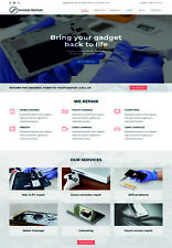 Mobile Phone Repairing Website Design, Domain + Hosting, Fully Responsive Design