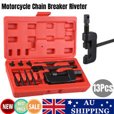 12x Motorcycle Chain Splitter Cutter Riveting Tool Link Breaker Remover Riveter