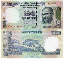 INDIA 100 RUPEES 2014 P 105 NEW SYMBOL UNC