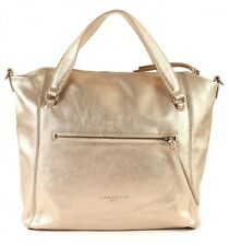 LIEBESKIND BERLIN Embossed Metallic Goat BoweryF8 Tasche Moonlight Gold Neu