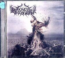 DARKNESS BY OATH Seeds of Desolation CD Condizioni Eccellenti