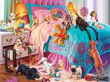 CEACO PAWS GONE WILD PUZZLE NAUGHTY PUPPIES STEVE READ 550 PCS #2323-1