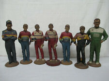 Set 7 Tom Clark Racing Statues Gordon Elliot Brickyard Davey Allison + Bonus 2$