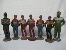 Set 7 Tom Clark Racing Statues Gordon Elliot Brickyard Davey Allison + Bonus 2$