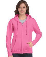 Gildan 18600FL Heavy Blend Ladies' Full Zip Hooded Sweatshirt Size S-2XL
