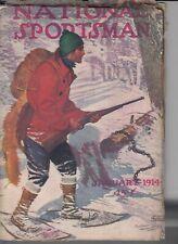 National Sportsman pulp paperback book-Jan. 1914-Q
