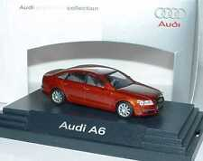 1:87 Audi A6 C6 canyon rouge rouge Rouge - Dealer-Edition OEM - Busch 5010406142