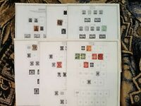 Germany Danzig 1924-1938 - Mounted on Minkus Pages - MH/Used - D4