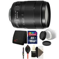 Canon EF-S 18-135mm f/3.5-5.6 IS USM Lens and 16GB Bundle for DSLR Cameras