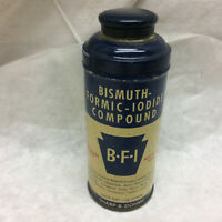 Vintage Tin Bismuth Formic Iodide Compound Tin ONLY