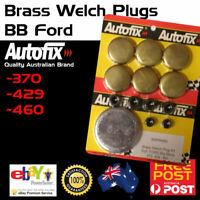 New Brass Welch Welsh Freeze Core Plug Set Gallery Kit Fits BB Ford 370 429 460