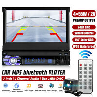 7'' Touch Screen 1 din Auto bluetooth Radio Fm Musik Video Player + Heck