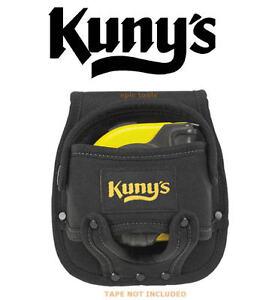 KUNYS HM1218 Large Black 5m/8m Fabric Tape Measure Belt Holder Frog, KUNHM1218