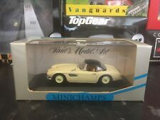Minichamps BMW 507 Cabrio Hard Top Cream 1/43 MIB