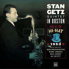Stan Getz QUINTET IN BOSTON · LIVE AT THE HI-HAT 1953 (2-CD)