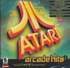 ATARI ARCADE HITS 1 Asteroids + Tempest PC Games SEALED