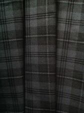TARTAN WASHABLE POLY VISCOSE FABRIC 11oz MED WEIGHT-LARGE SELECTION-PER METRE