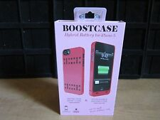 Boostcase Hybrid Power Case 1500mAh for Iphone 5 -Pink - BRAND NEW SEALED