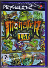 PS2 MONSTER LAB (2008) UK Pal, Brand New & SONY FACTORY SEALED