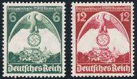 DR 1935, MiNr. 586-587, 586-87, tadellos postfrisch, Mi. 25,-