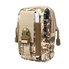 Tactic Molle Waist Bags Waterproof Men Casual Belt Pack Nylon Work Fanny Bag