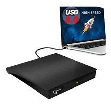 New listing External Dvd Drive, Usb 3.0 Portable Cd/Dvd+/-Rw Drive/Dvd Player for Laptop Cd