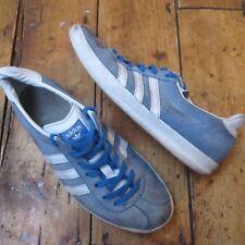 Adidas Originals Gazelle Trainers Suede Light Blue Men's UK Size 4 EU 37