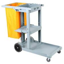 More details for janitorial cleaning trolley cleaning cart hotel school housekeeping trolley+bag