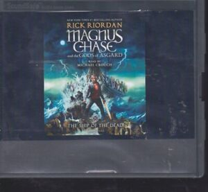 THE SHIP OF THE DEAD by RICK RIORDAN ~UNABRIDGED CD AUDIOBOOK