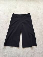 WHITE HOUSE BLACK MARKET Women's Black Khakis Capris Crop Pants Size 6