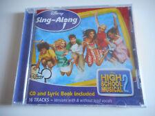 CD NEUF - DISNEY HIGH SCHOOL MUSICAL 2 / SING-ALONG