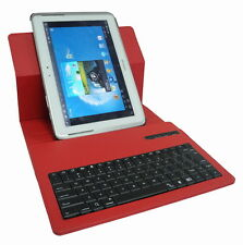 Bluetooth Removable Keyboard Case Cover For Samsung Galaxy Note  n8000 N8013