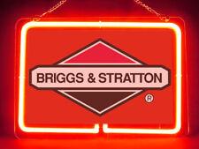 Briggs & Stratton Engine Hub Bar Display Advertising Neon Sign