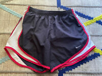 Nike Dri-Fit Athletic Women's Yellow & Black Tempo Running Shorts size XS