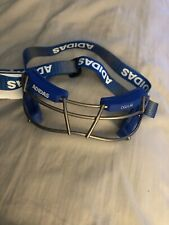 Adidas Eqt Oqular Lacrosse Goggles Eye Protection Bs4319 New Msrp $60 Blue