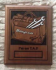 Snap On Tools Collectable T.A.P. (Tote And Promote Award) 80s RARE