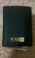 Victoria's Secret Black Passport Cover ID Card Holder NWT