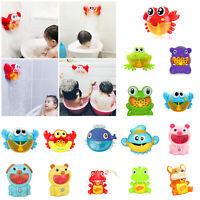 Krabben Bubble Maschine Musical Maker Bad Baby Spielzeug Dusche Spaß Geschenk