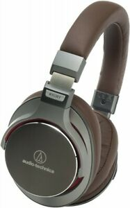 Audio-Technica Dynamic Headphones Hi-Res Over-Ear Brown ATH-MSR7 from Japan