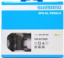 Shimano 105 PD-R7000 Carbon SPD-SL Road Bike Pedals set w/ SM-SH11 New in Box