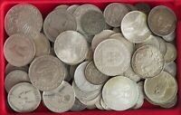 COLLECTION LOT SILVER, ONLY SILVER COINS WORLD 110PC 602GR #xx20 027
