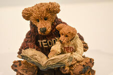 Boyds Bears  Ted & Teddy  Reading the Book  Style #2223  Classic Figures