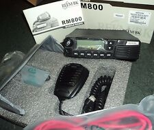 NEW RMU800 UHF Radio 45 Watts RELM RM800 450 - 512 mhz FREE PROGRAMMING Mobile