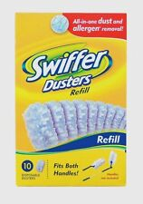 41767 New SWIFFER Duster Pad Refills 10 Pack Replacement Disposable Dust Cleaner