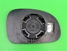 PEUGEOT 406 & Coupe (95-04) Lato Sinistro (Passeggero) Blu Riscaldato porte a specchio di vetro